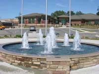 Legacy Fountain at BiCentennial Park